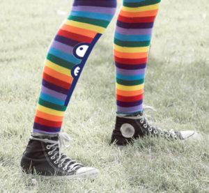 gekleurde sokken ambassadeur Zoë